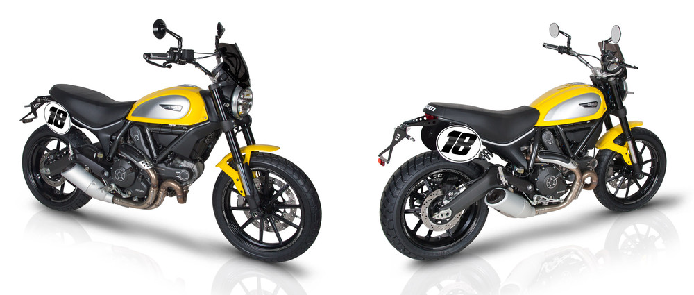 ducati scrambler motorfiets accessoires. Black Bedroom Furniture Sets. Home Design Ideas