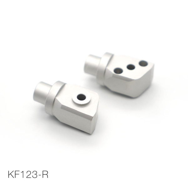 KAWASAKI voetsteunen-adapter achterzijde (set)