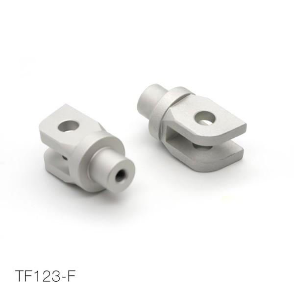 TRIUMPH voetsteunen-adapter voorzijde (set)