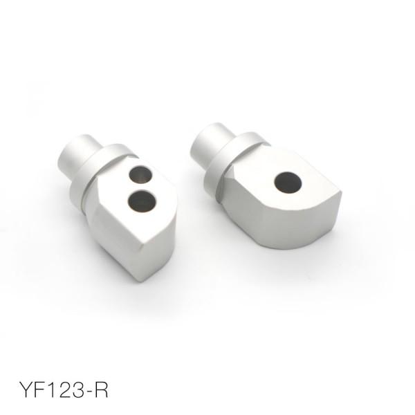 YAMAHA voetsteunen-adapter achterzijde (set)